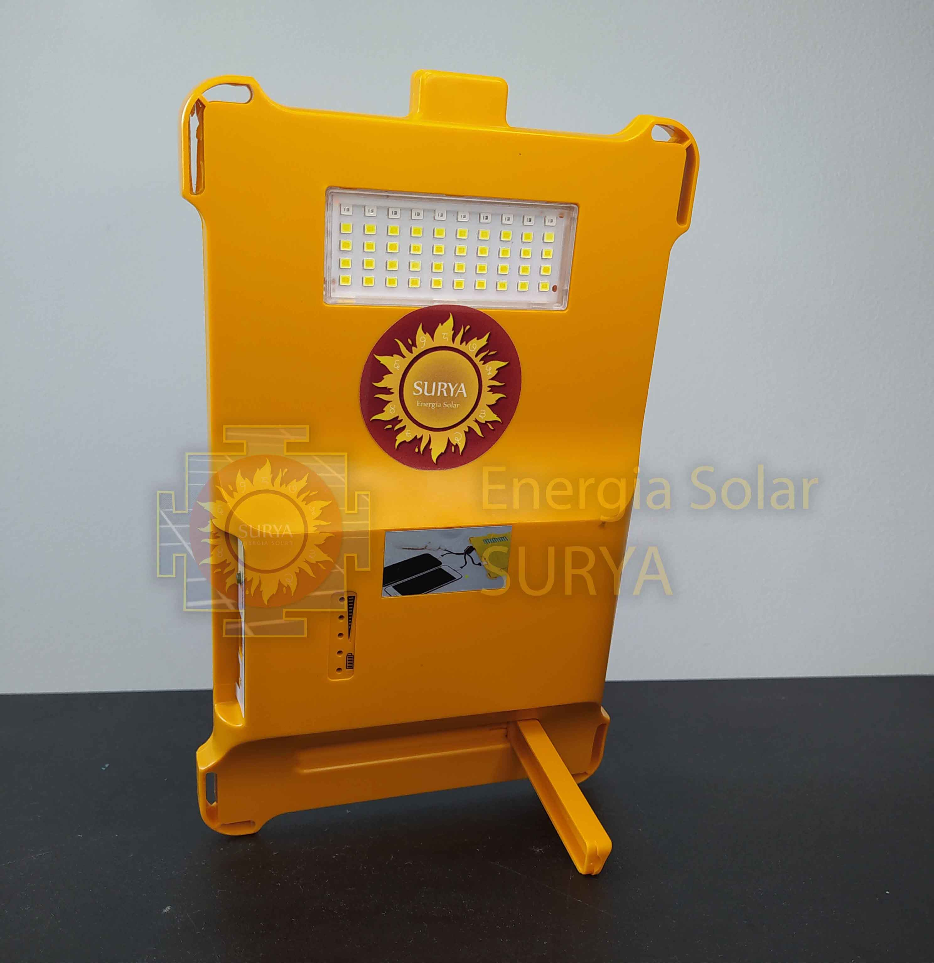 Energia solar para iluminacion pequeña y cargar celular 4
