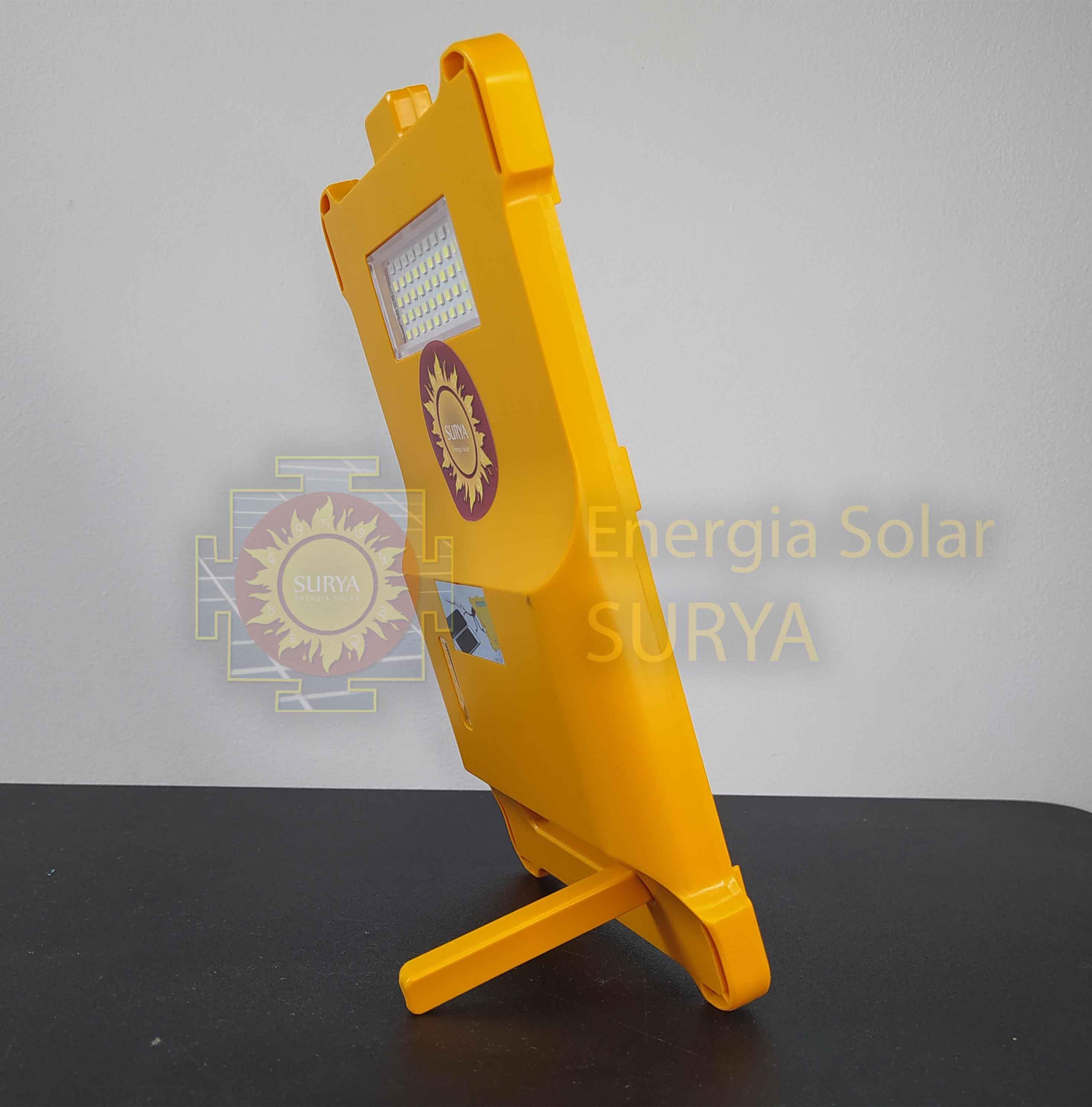 Energia solar para iluminacion pequeña y cargar celular 5