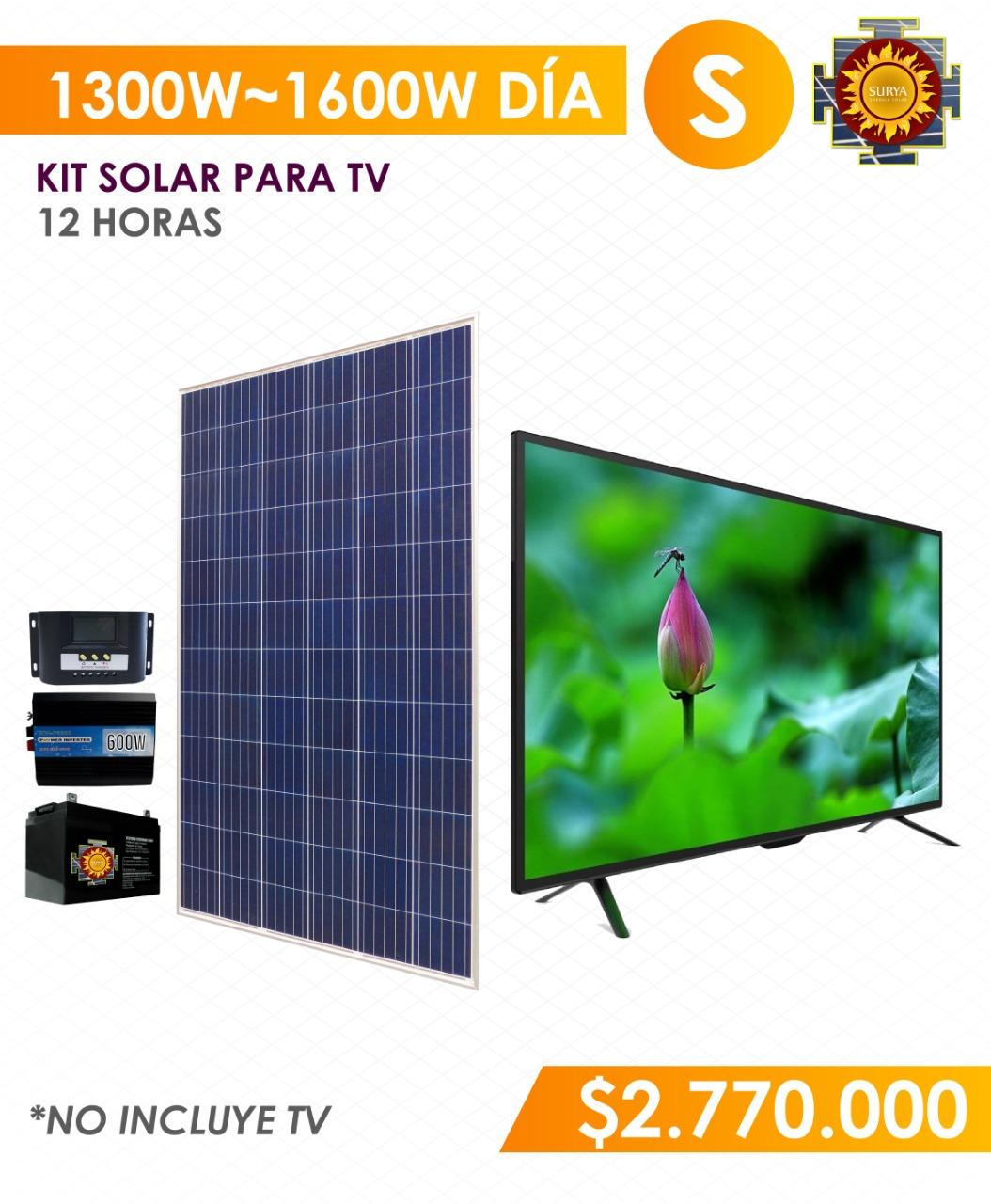 televisor con energia solar en colombia